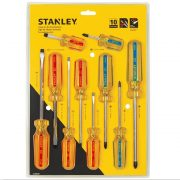 STANLEY 69-172 - 10 Pieces Pro Screwdriver Set