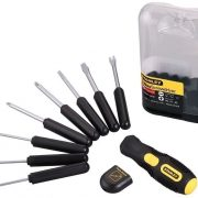 STANLEY 0-62-511 - 9 Way Multi functional Screwdriver Set