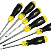 STANLEY 0-65-007 - 6 Pieces Slotted Screwdriver Set