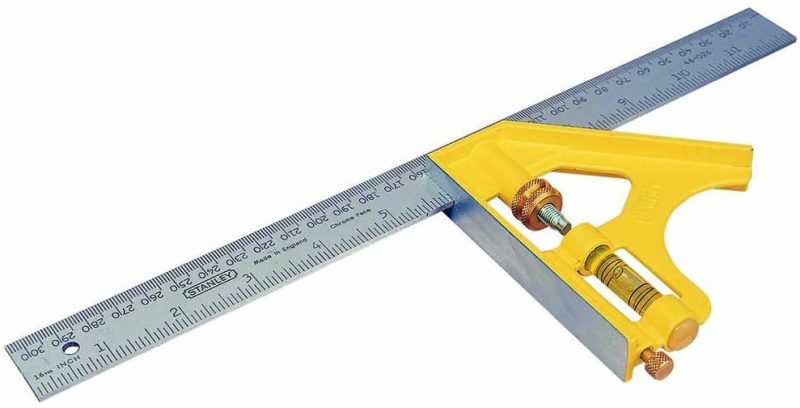 STANLEY 2-46-028 - 12″ Metric Combination Square