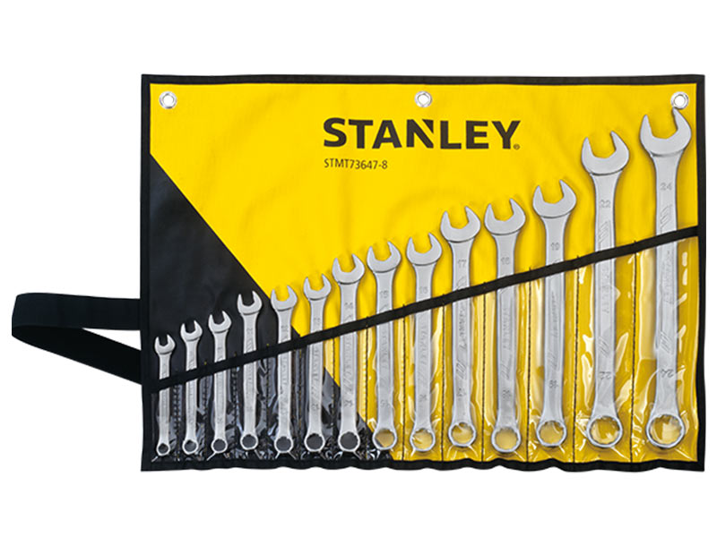 STANLEY STMT73647-8 - 14 Pieces Combination wrench set