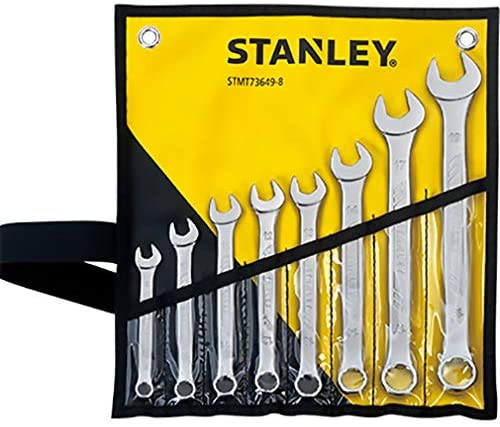 STANLEY STMT73649-8 - 8 Pieces Combination wrench set