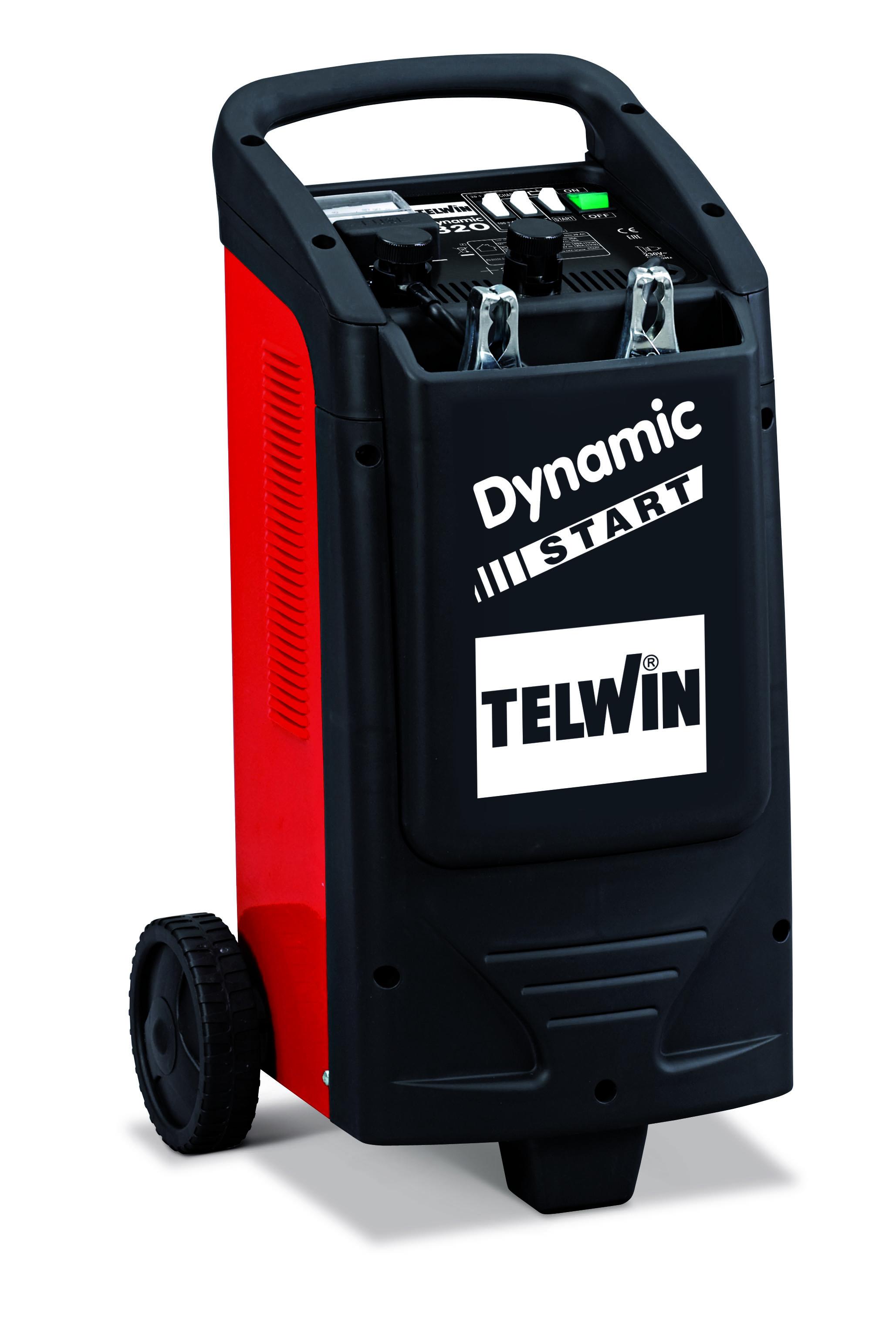 TELWIN 829381 - DYNAMIC 320 START 230V 12-24V, Car Battery Jump Starter