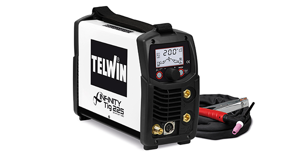 TELWIN 816089 - INFINITY TIG 225 DC-HF/LIFT VRD 230V MMA AND TIG WELDING, P-MAX(4.7kW)