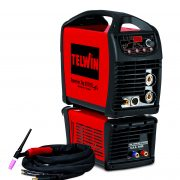 TELWIN 816119 - SUPERIOR TIG 252 AC/DC HF/LIFT VRD AQUA, TIG and MMA Inverter Welding Machine, P-Max(7.5kW)