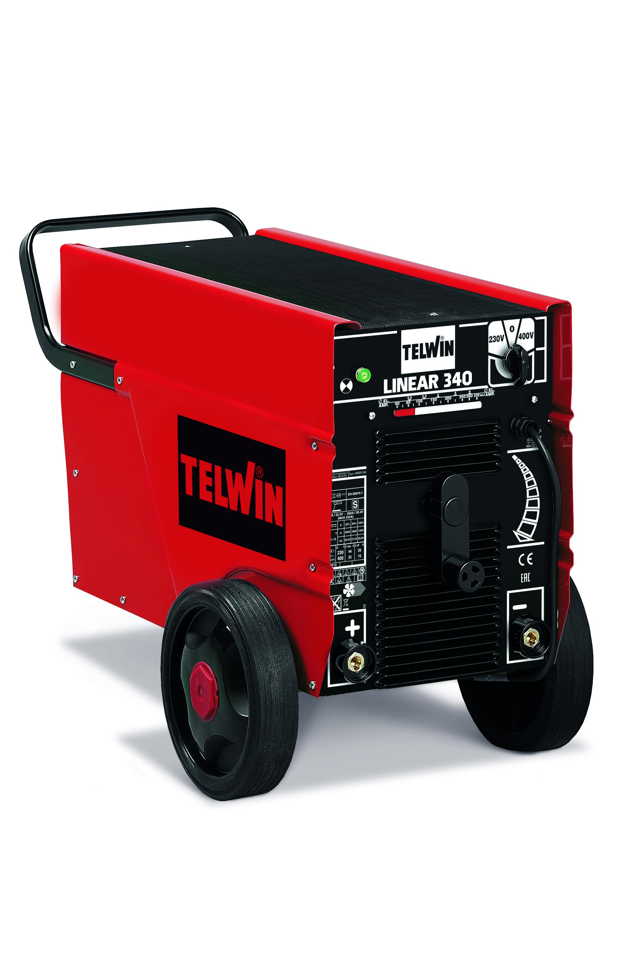 TELWIN 819020 - LINEAR 340  230-400V, MMA Welding Machine, P-Max(7kW)