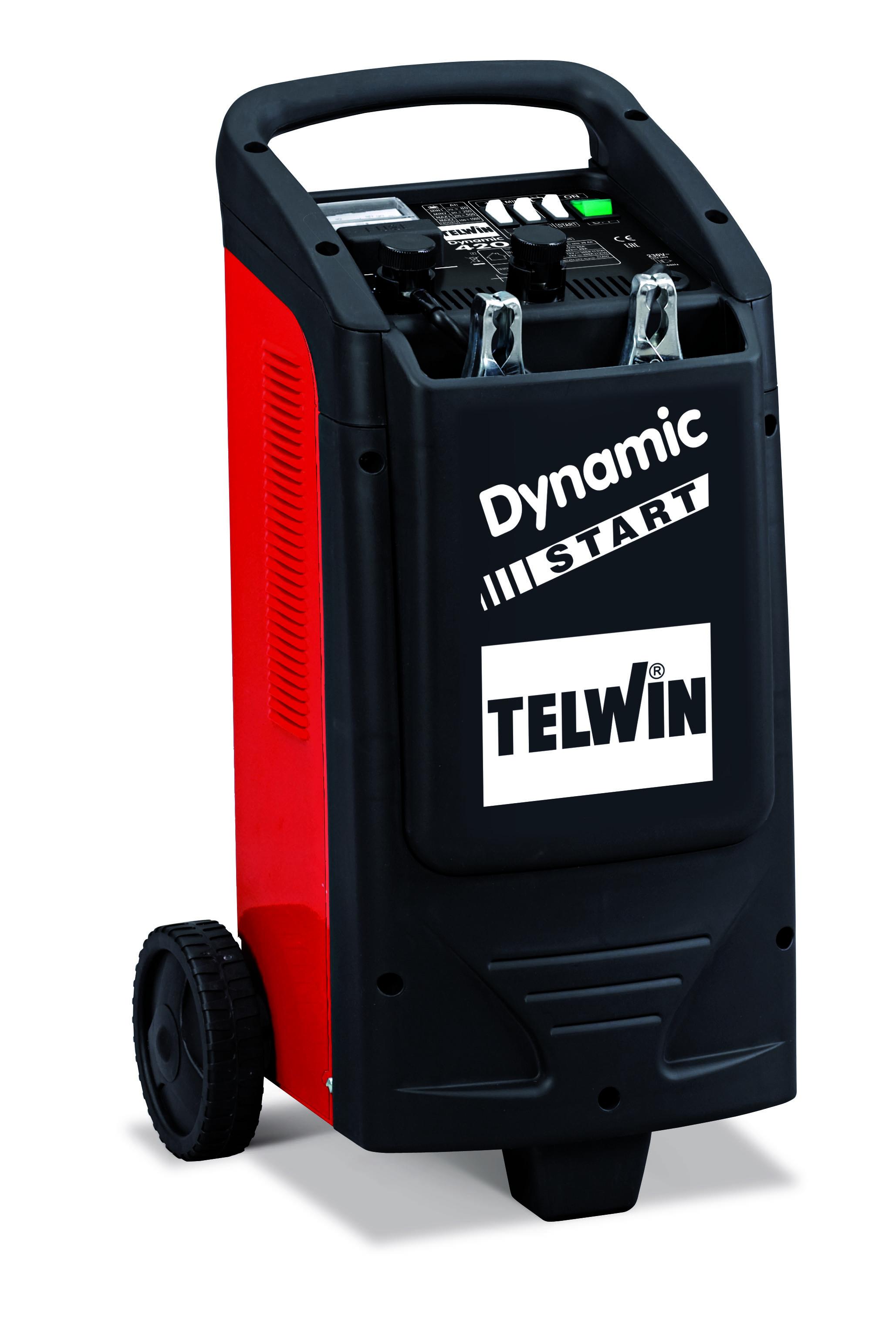 TELWIN 829382 - DYNAMIC 420 START 230V 12-24V, Car Battery Jump Starter