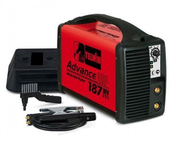 TELWIN 852047 - ADVANCE 187 MV/PFC  100-240V + ACX MMA AND TIG WELDING