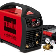 TELWIN 852055 - TECHNOLOGY TIG230 DC-HF/LIFT VRD230V+A, TIG and MMA Inverter Welding Machine – P-Max(6kW)