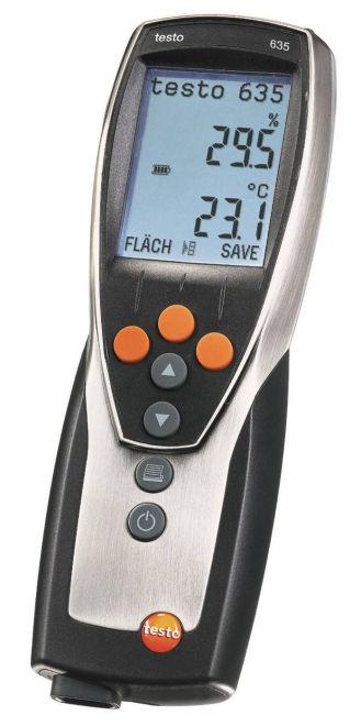 TESTO TST-635-2 - U-value promo set – thermohygrometer set