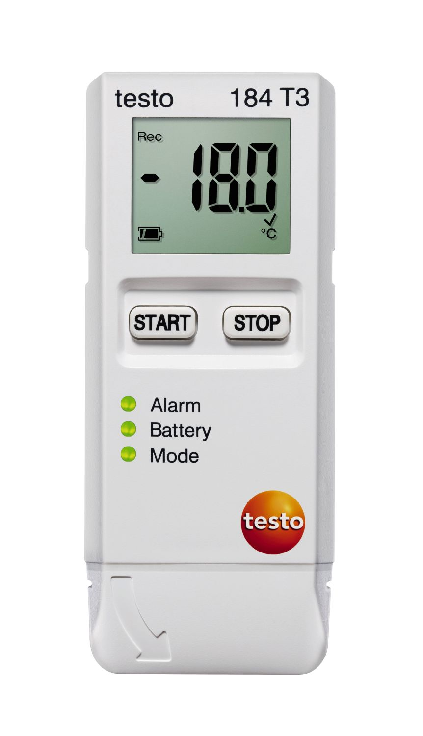TESTO 184 T3 - Temperature Data-logger for transport monitoring