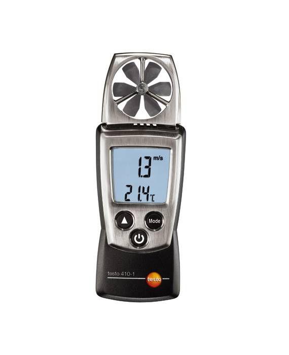 TESTO 410-1 - Digital Vane Anemometer
