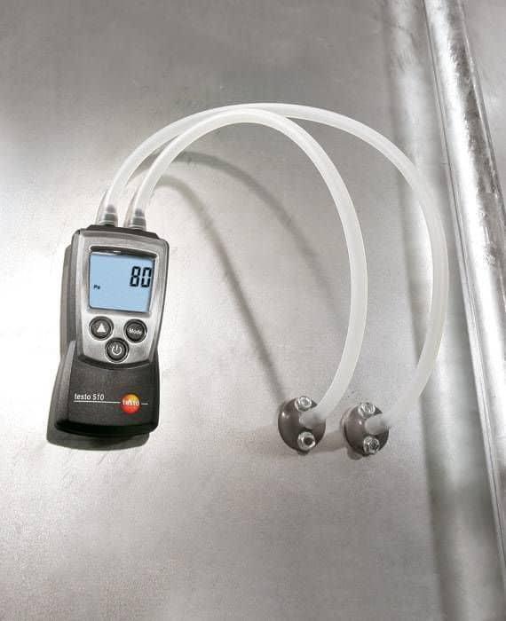 Testo_510-differential-pressure-meter-industry-2_master - Differential Pressure (0 to 40 InH₂O)