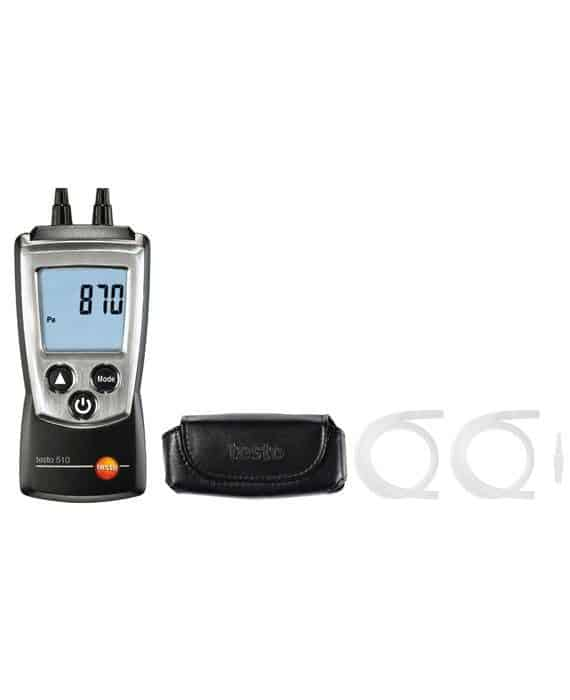 TESTO 510 - Differential Pressure (0 to 40 InH₂O)