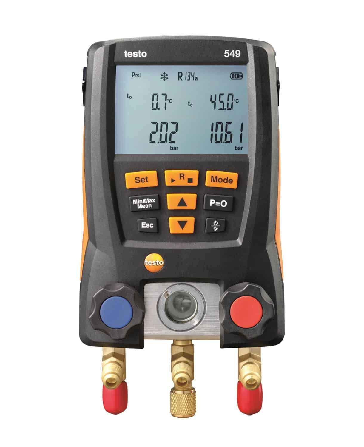TESTO 549 - Digital Manifold – 2 Temperature NTC