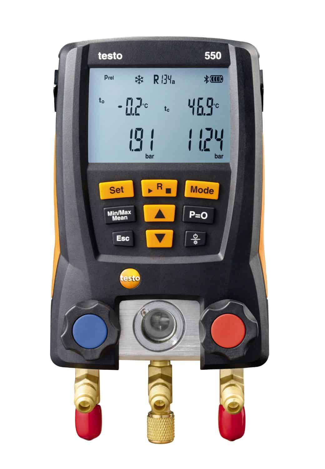 TESTO 550 - Digital Bluetooth Manifold – 2 Temperature NTC