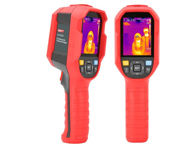 - Thermal Imager 9Hz with high-temperature limit exceeding alarm – 160×120 pixels