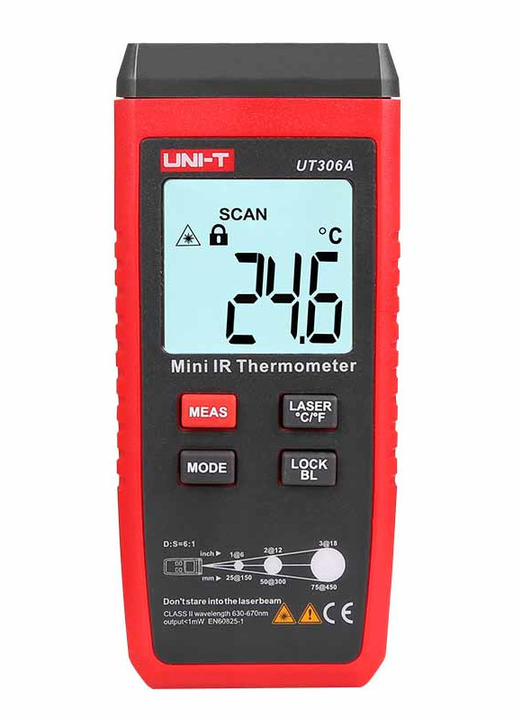 UNI-T UT306A - Mini Infrared Thermometer