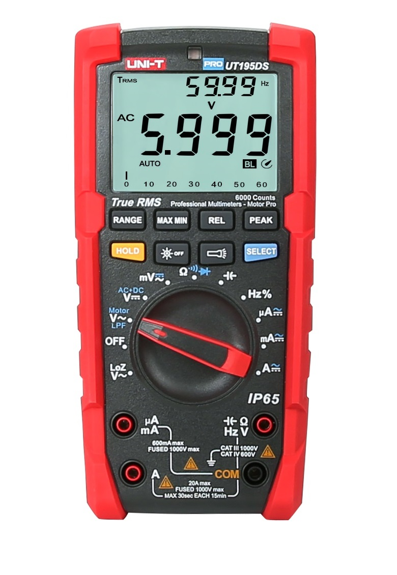 UNI-T UT195DS - Electrician Advance Digital Multimeter