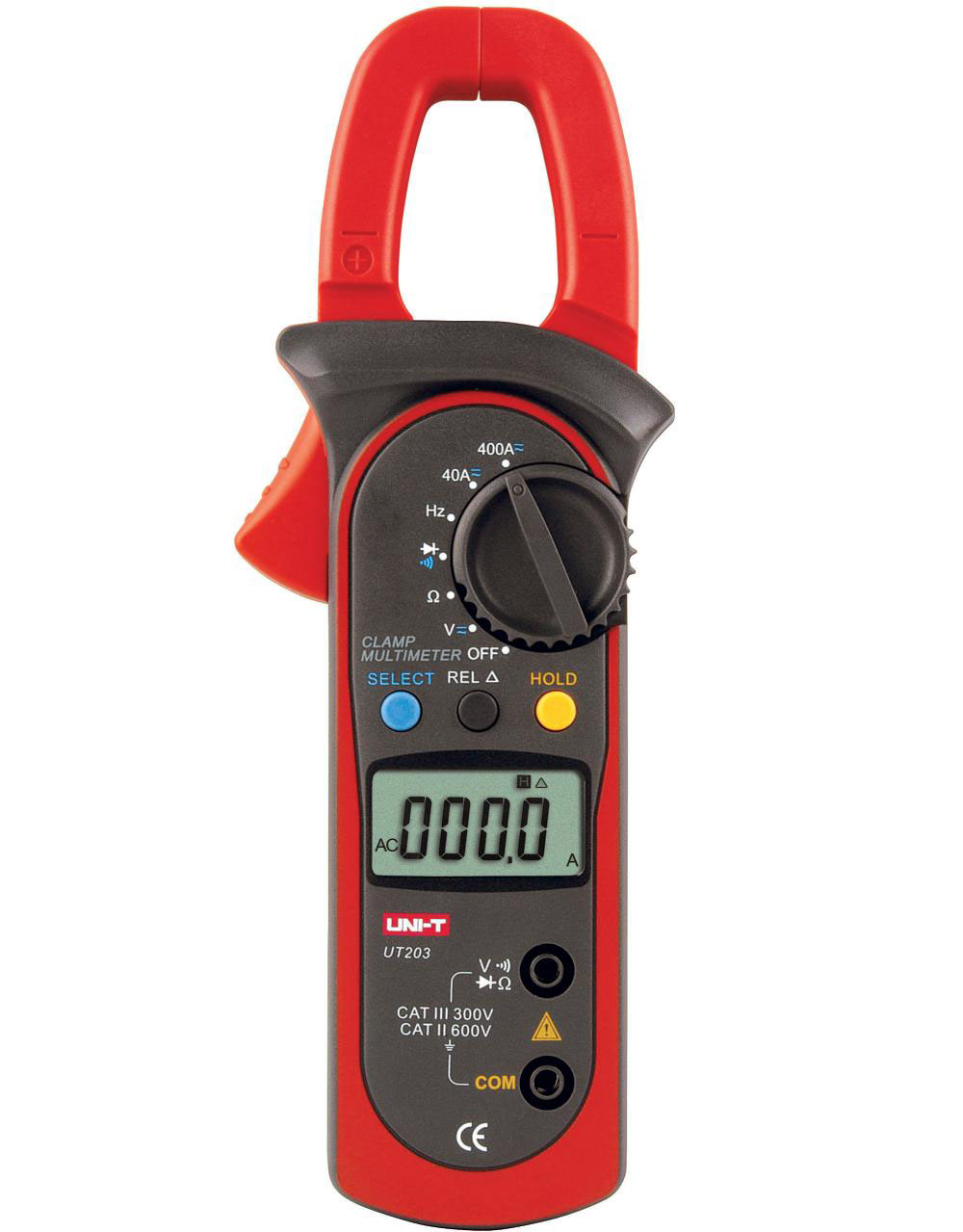 UNI-T UT203 - Digital Clamp Meters 400A; 400mV-600V