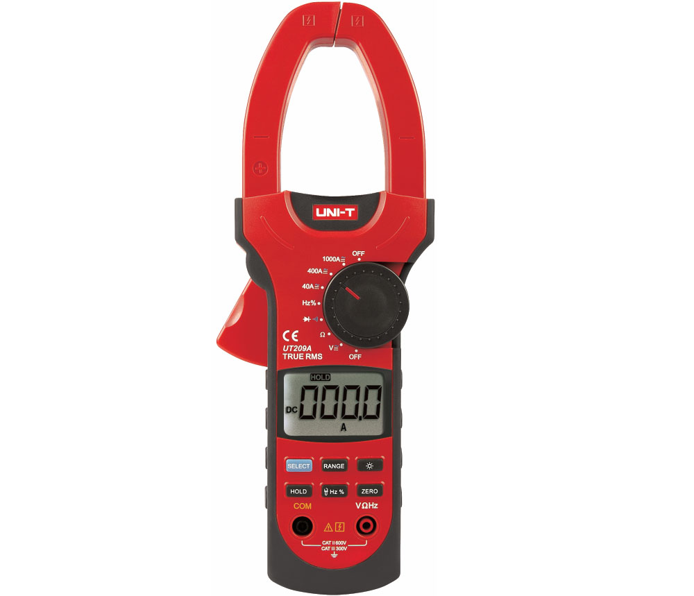 UNI-T UT209A - Clamp Meters True RMS 1000A  400mV-1000V