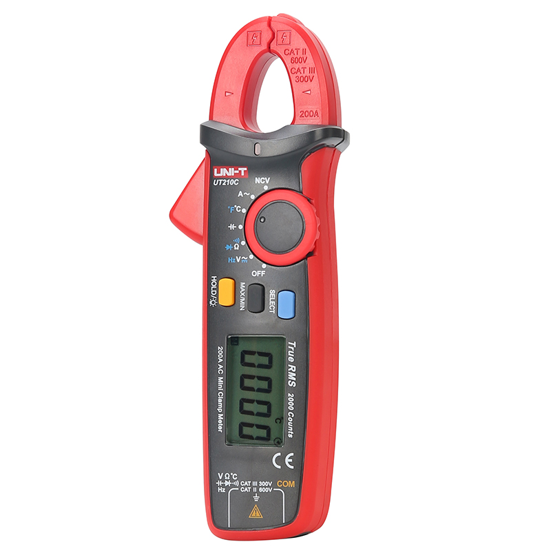 UNI-T UT210C - Mini Clamp Meter 200A