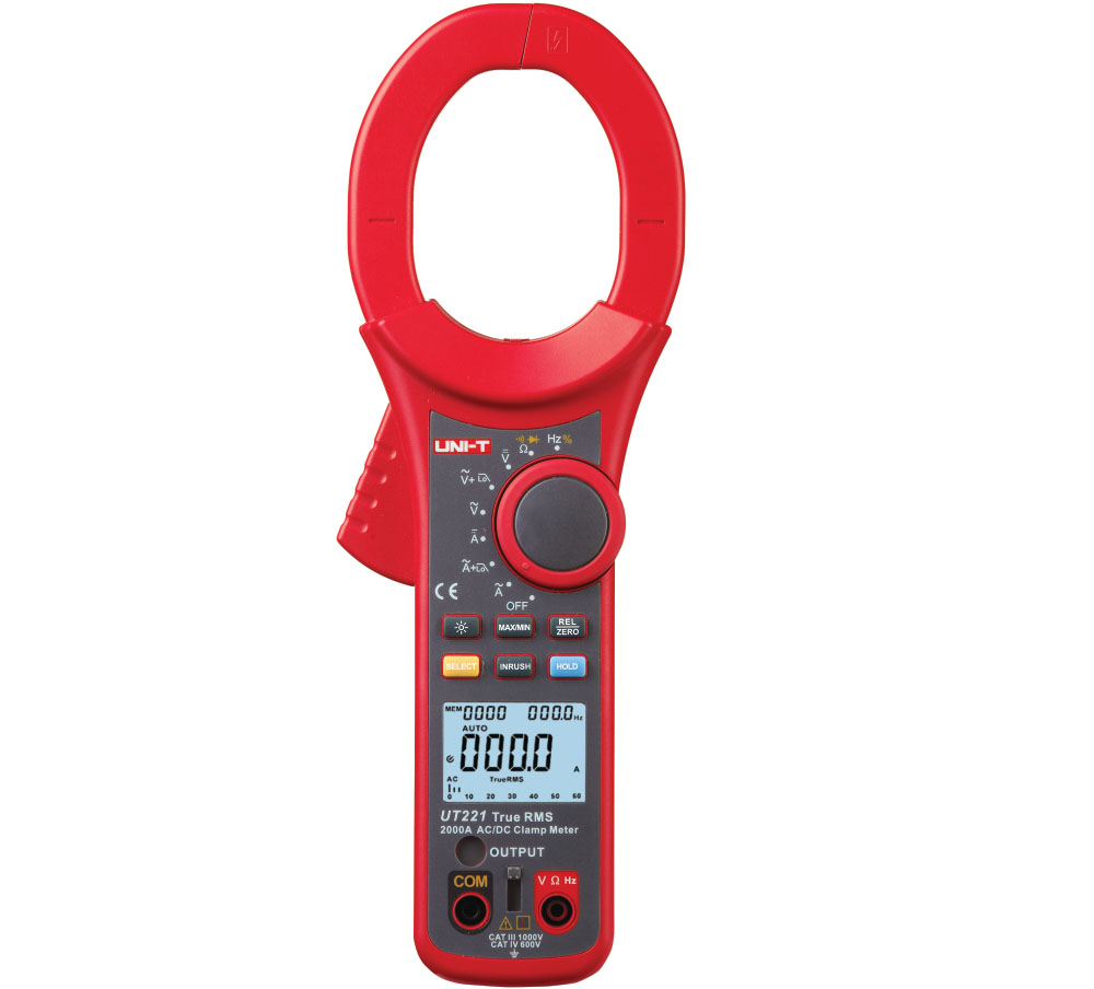 UNI-T UT221 - Clamp Meter –  2000A / Until Stock Last
