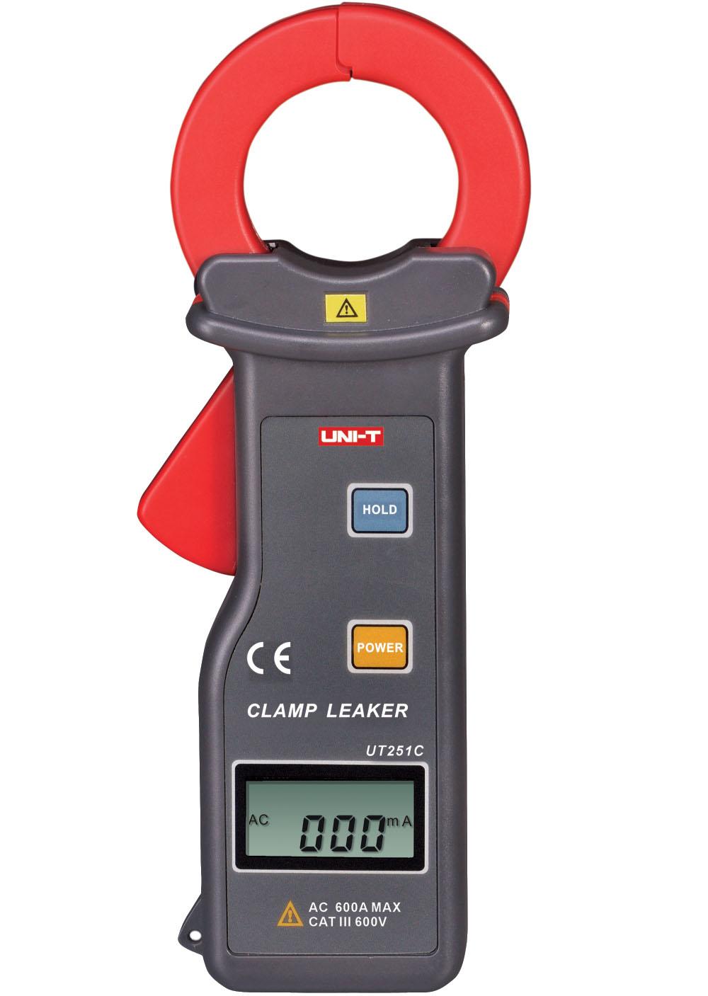 UNI-T UT251C - Leakage Current Clamp Meter  0-600A