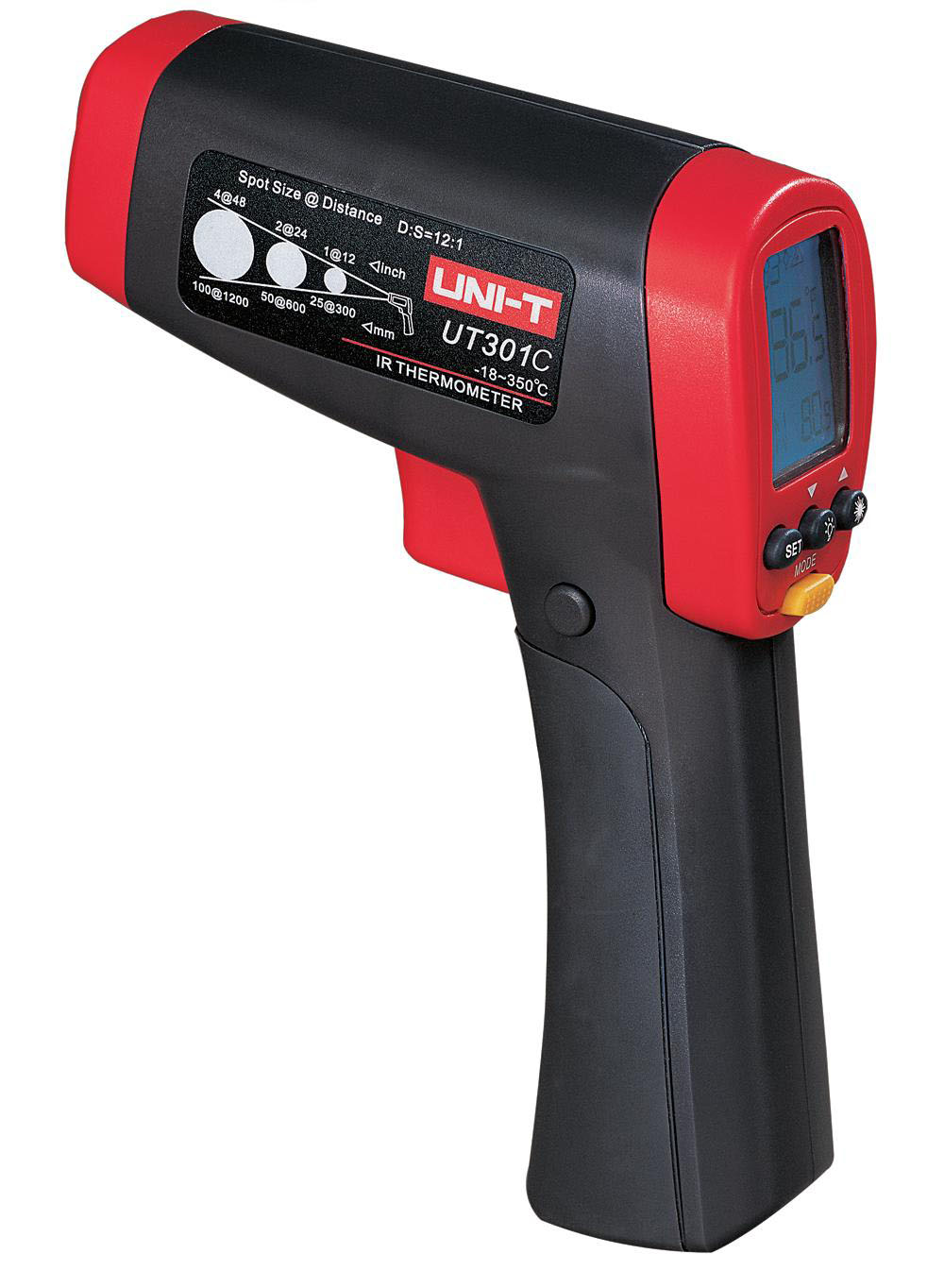 UNI-T UT301C - Infrared Thermometer  – 18°C to 550°C