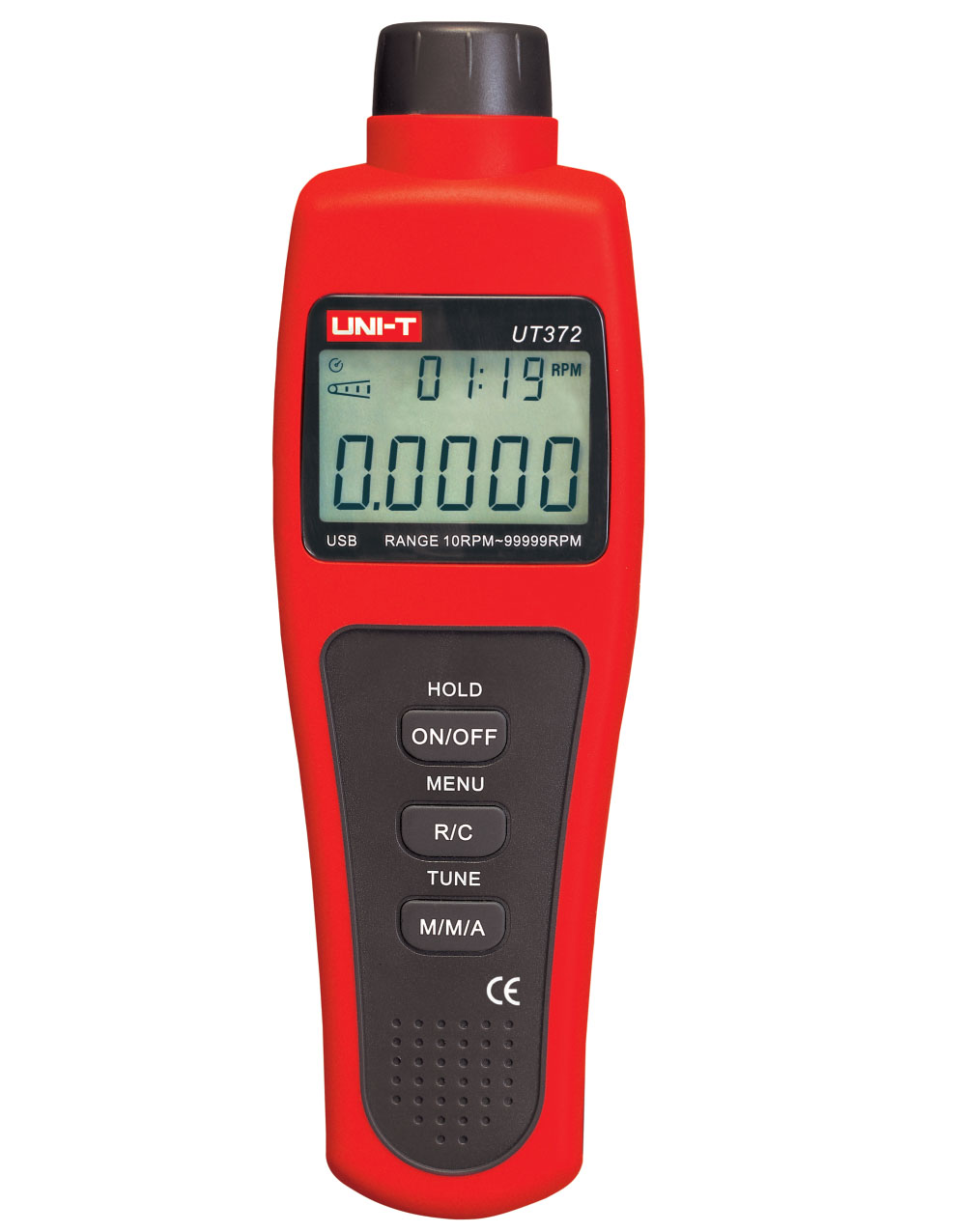UNI-T UT372 - Tachometer (Motor Speed Measurement); Speed:10-99;999 rpm
