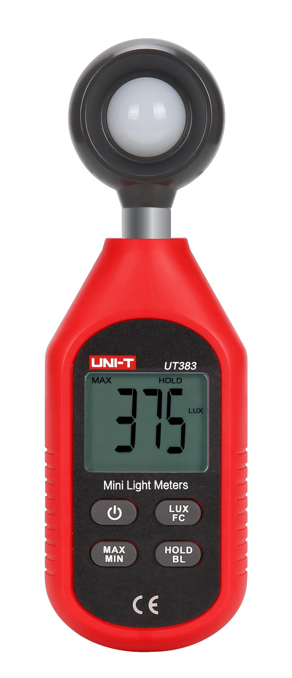 UNI-T UT383 - Light Meter0-200;000 Lux