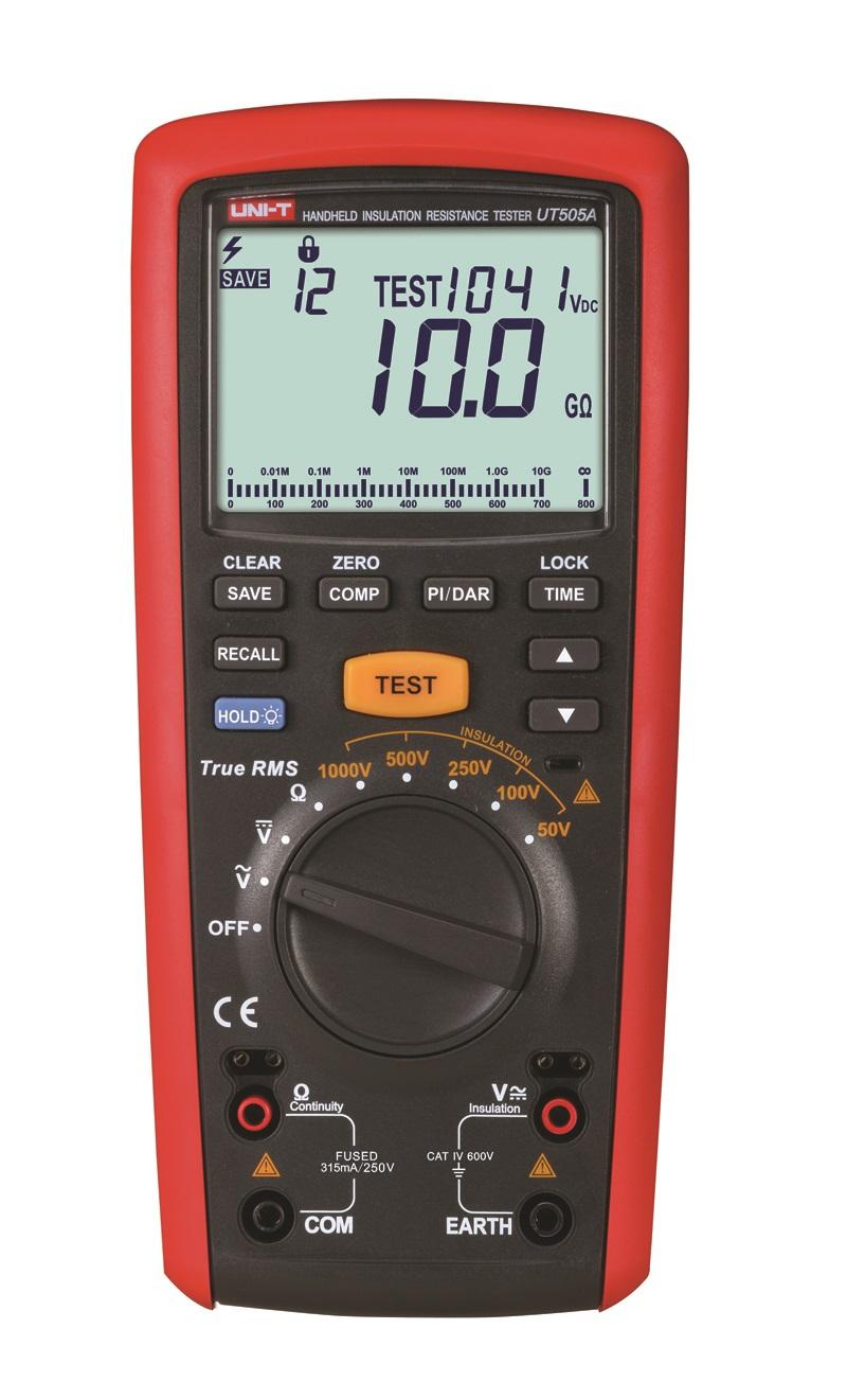 UNI-T UT505A - Insulation Resistance Tester;  5000V
