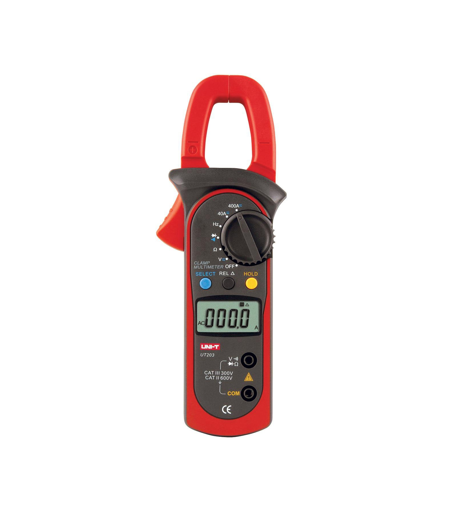 UNI-T UT203 - Digital Clamp Meters 400A; 400mV-600V