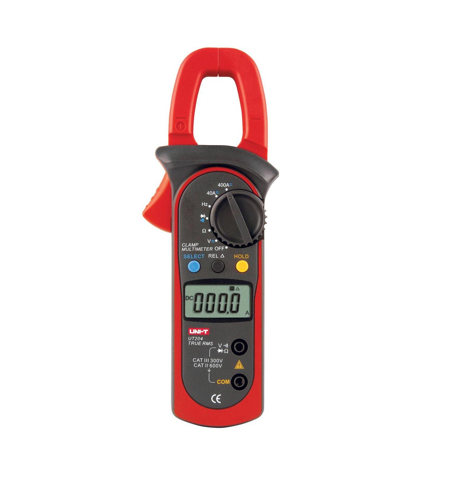 UNI-T UT204 - Digital Clamp Meters True RMS 600A  400mV-600V