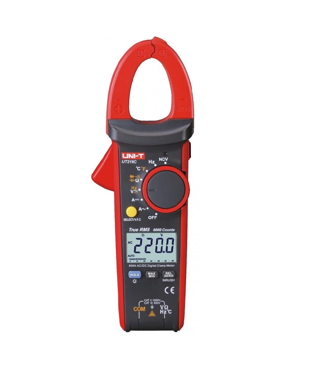 UNI-T UT216C - Digital Clamp Meters True RMS 600A