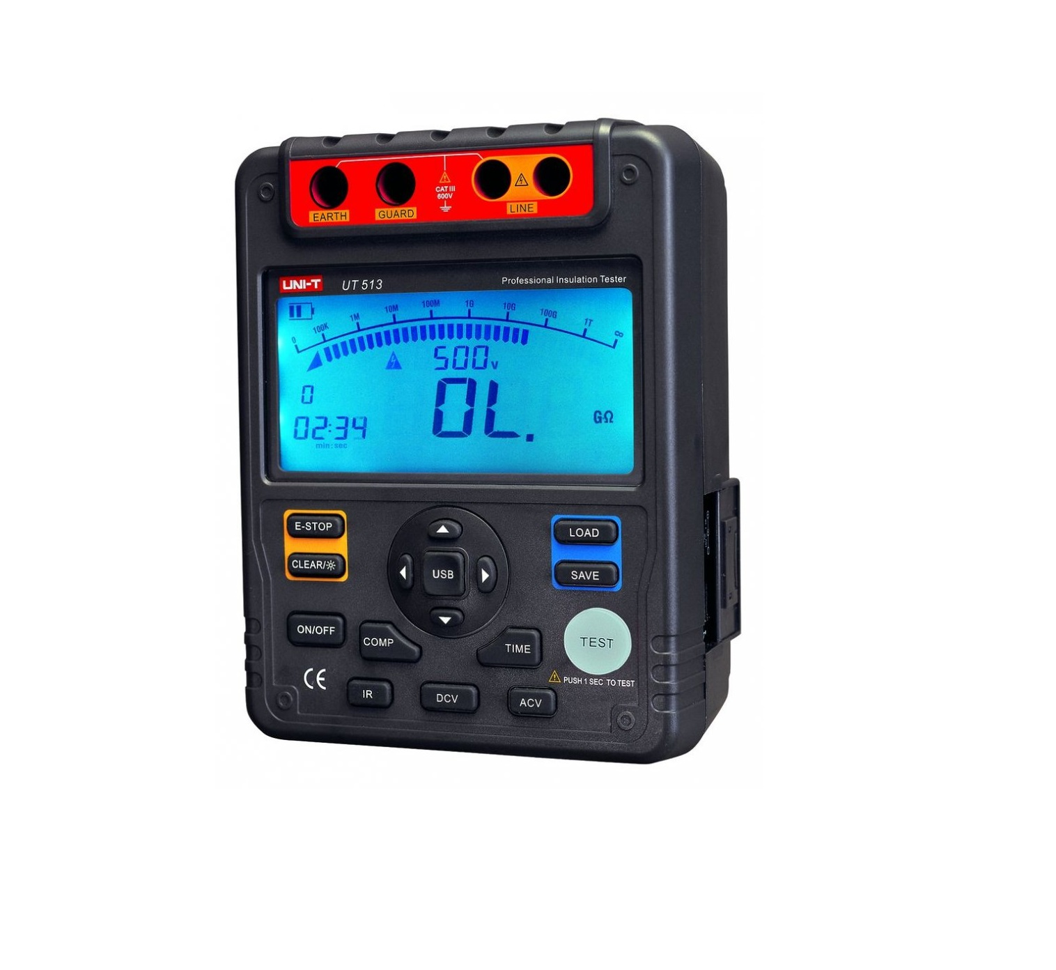 UNI-T UT513A - Insulation Resistance Tester 600V