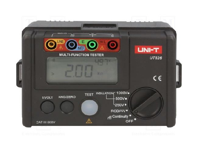 UNI-T UT526 - Electrical Tester