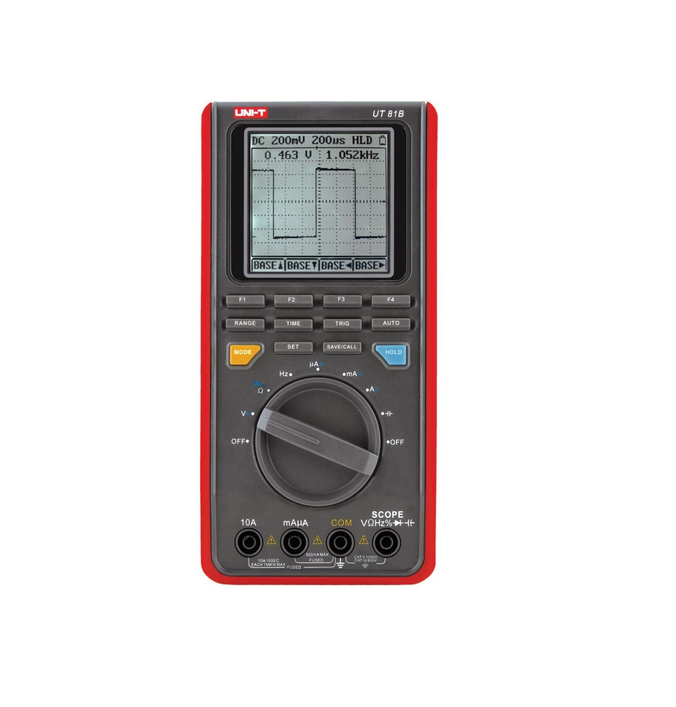 UNI-T UT81B - Digital Scope Multimeter  400mV-1000V