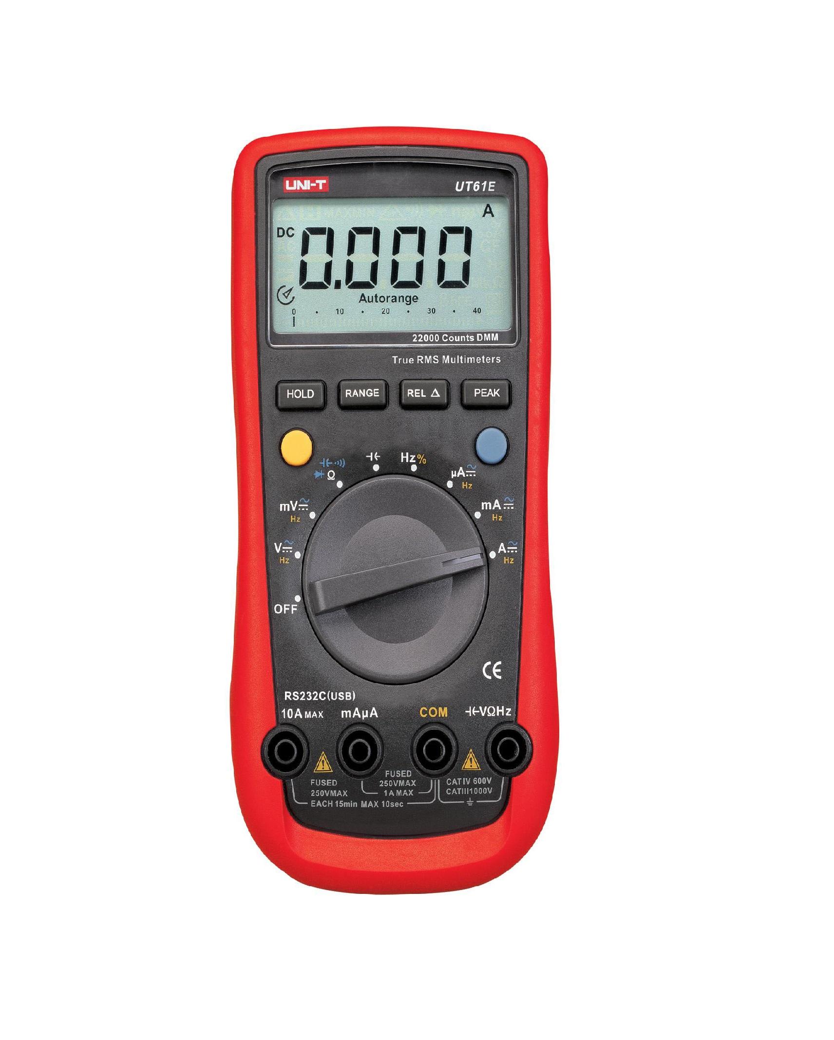 Uni_T_UT61E_Industrial Multuimeters_Digital Multimeter 600MV-1000V