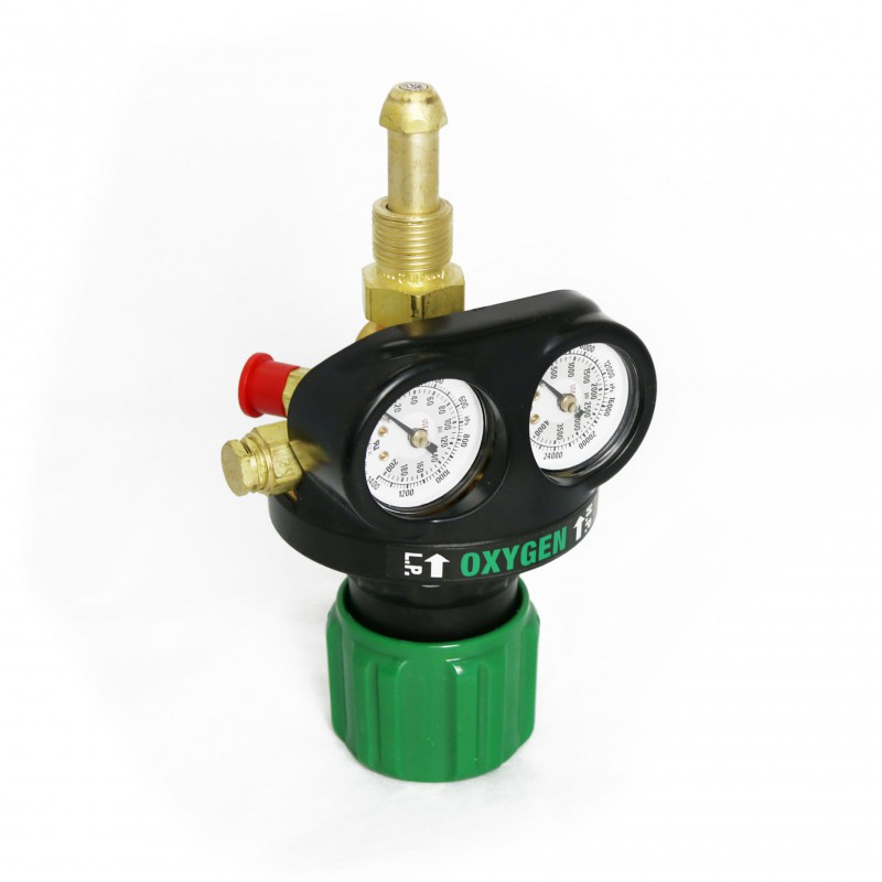Victor ETS4-150- 992 - Edge Series Oxygen Regulator-Double Stage