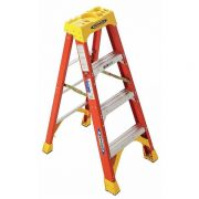 Werner 6204 - 4FT HD Fiberglass Ladder
