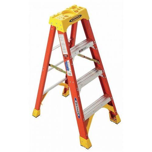 Werner 6204 - 4FT HD Fiberglass Ladder