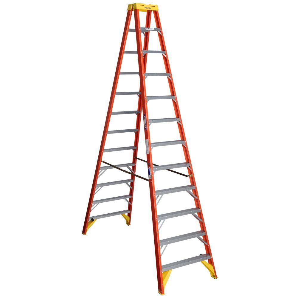 Werner 6212 - 12FT HD Fiberglass Ladder