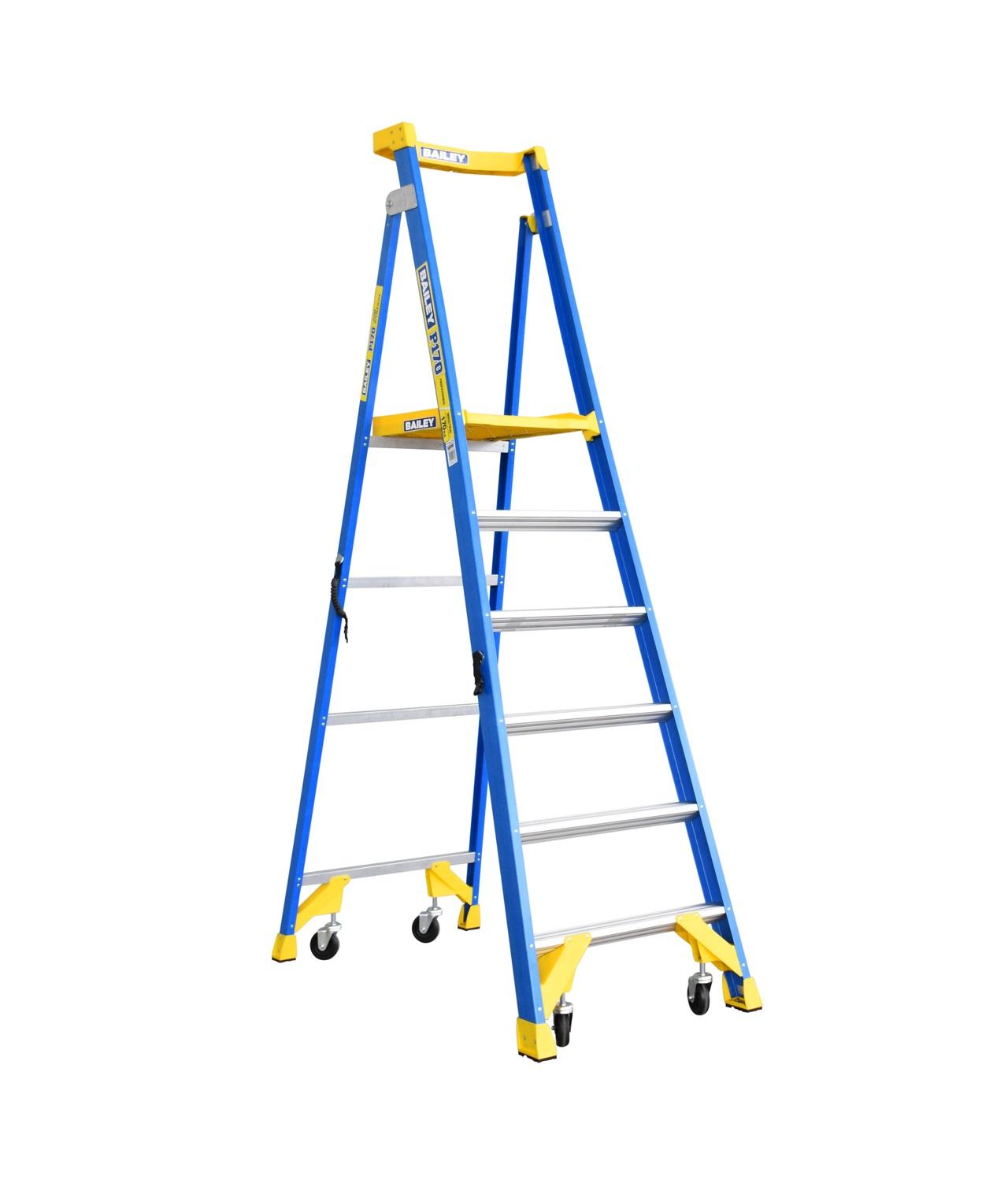 Werner_P170-6 FG_Fiberglass Step Ladder