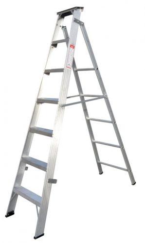 ZAMIL DPL/6 - Aluminium Step Ladder  6FT / 1.8M