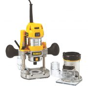 DeWALT D26204K-GB - Premium Plunge & Fixed Base Router Combination