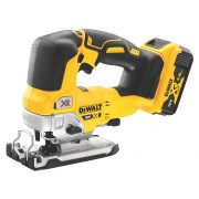 DeWALT DCS334P2-GB - 18v XR Top Handle Jigsaw Kitted 2x 5.0AH