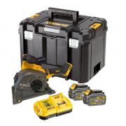 DeWALT DCG200T2-GB - 54v XR FLEXVOLT Brushless Wall Chaser inc 2x 6Ah Batts & Charger in TSTAK Carry Case