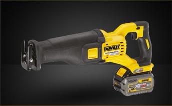 DeWALT DCS388T2-GB - 54V XR Flex Volt Reciprocating Saw Kit