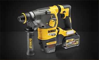 DeWALT DCH334X2-GB - 54V XR Flex Volt SDS Plus Hammer w/QCC - 220V